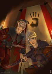 Comm: Agents of the Dark Brotherhood by rooster82