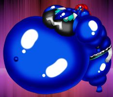 Mystique Balloon Sumo by Spit-Fire233