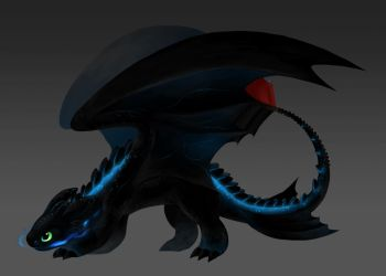 Toothless the Alpha by Aritimas