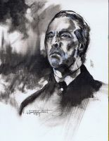 Christopher Lee by Fusciart