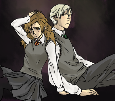 Dramione by eyewhiskers