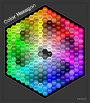 Hexagon Color Chart by SkyJohn