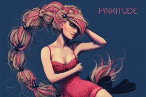 Pinkitude by vmbui