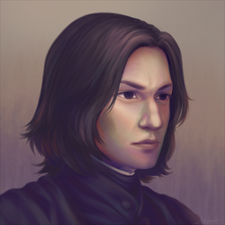 Severus Snape by Blunell