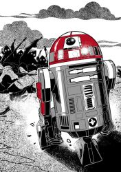 R2-J8 by ClaudiaCangini