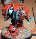 Blood Angels Ironclad Dreadnought by Stefoserpent