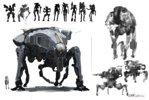 mech-explore by Sprigaan