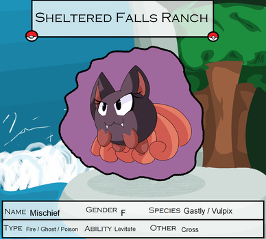 Sheltered Falls -Mischief- by Apricotthevixen