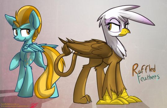 Ruffled Feathers by RalekArts