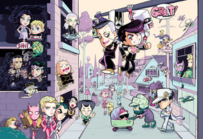 Diamond is Unbreakable by MaximoVLorenzo