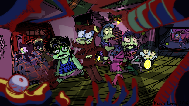 Why Did We Go In a Haunted House by AnimatEd