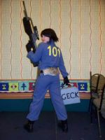 Fallout 3 cosplay by CrossdressingKuja