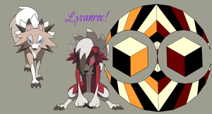 Lycanroc forms (updated) by Elemental-Fang