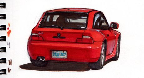 BMW-M-coupe-marker by Omar-Dogan