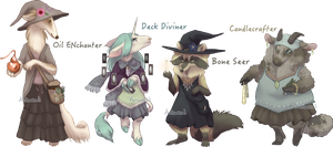 Woodland Witches Flatsale [closed] by Herboreal