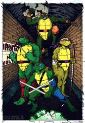 TMNT!!! by spider-punk