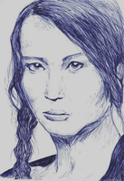 Katniss by Winterious