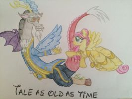 MLP Disney - Tale as old as time by gibina4ever