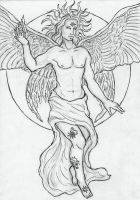 Archangel Uriel by Sjostrand