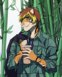 Bamboo forest by RhydonSutherland