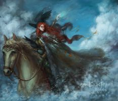 Kissed by fire by halderzor