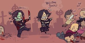 Welcome back.. by Fealasy