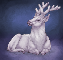 White Stag by Nyctra