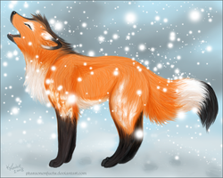 Howling Snow by Pharaonenfuchs