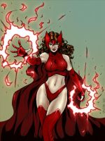 Scarlet Witch by RV1994 by carol-colors