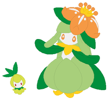 Petilil and Lilligant Base