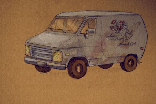 The Van From Hell by Minoris-ff