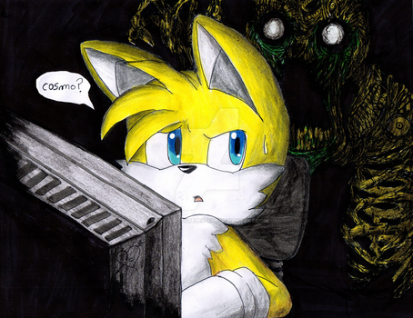 Tails The Fox (do not look back) by EROS-ARISTOTELES-ART