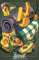 Breath Of The Wild-Beedle by HeavyMetalHanzo