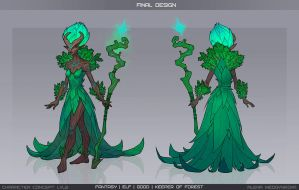 Keeper of forest concept by Anhel1310