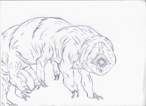 Kaiju: The Water Bear [Version I] by Cyprus-1