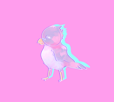 Pink Bird by ICS1999