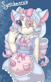 Pastel princess [Commission] by synnibear03