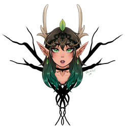 Forest Princess by Lovebirdtreat