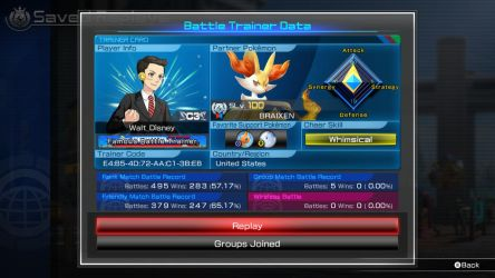 My Pokken Tournament DX Stats by SegaDisneyUniverse