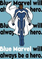 Blue Marvel by blindfaith311