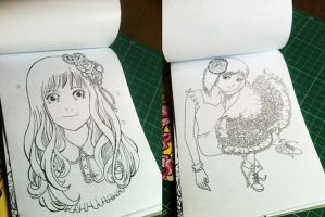 Preview Inside Coloring Book vol 2 by madna29