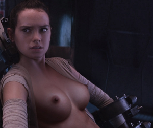 slave rey restrained by tethras