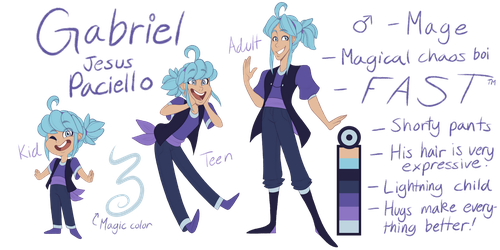 Gabriel Ref by TheZodiacLord