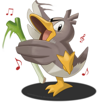 083 - Farfetch'd by nganlamsong