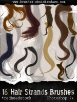 GIMP Wavy Hair Brushes by Project-GimpBC