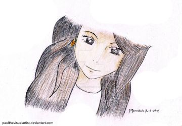 Grace Anne Prieto Anime-tized by PaulTheVisualArtist