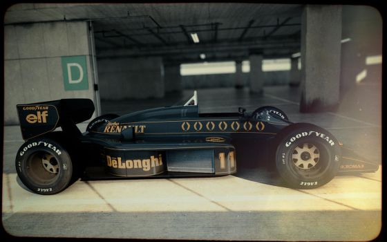 Lotus 98T #2 by blakk