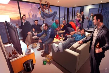 Grand Theft Auto Legends 2012 by PatrickBrown