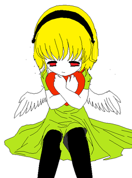 Satoko is a angel abandoned by dark-assassin-girl