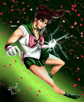 Sailor Jupiter by JowyervAkifumi